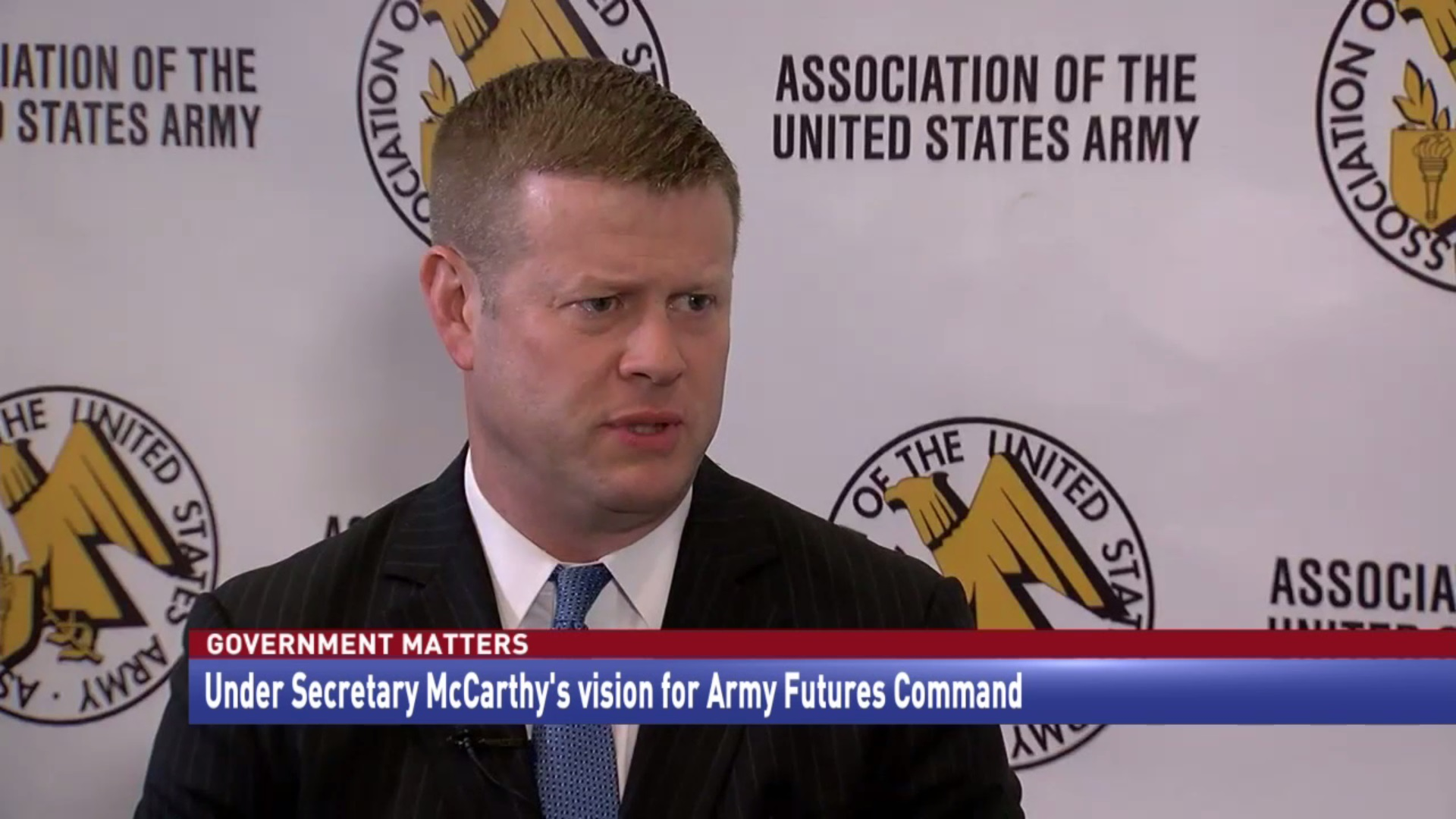 Under Secretary McCarthy's vision for Army Futures Command