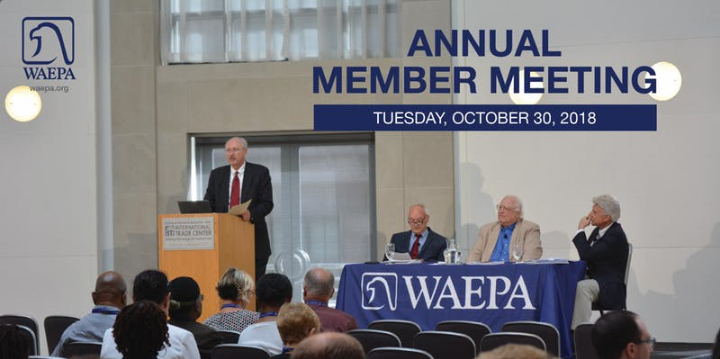 WAEPA 2nd Annual Member Meeting