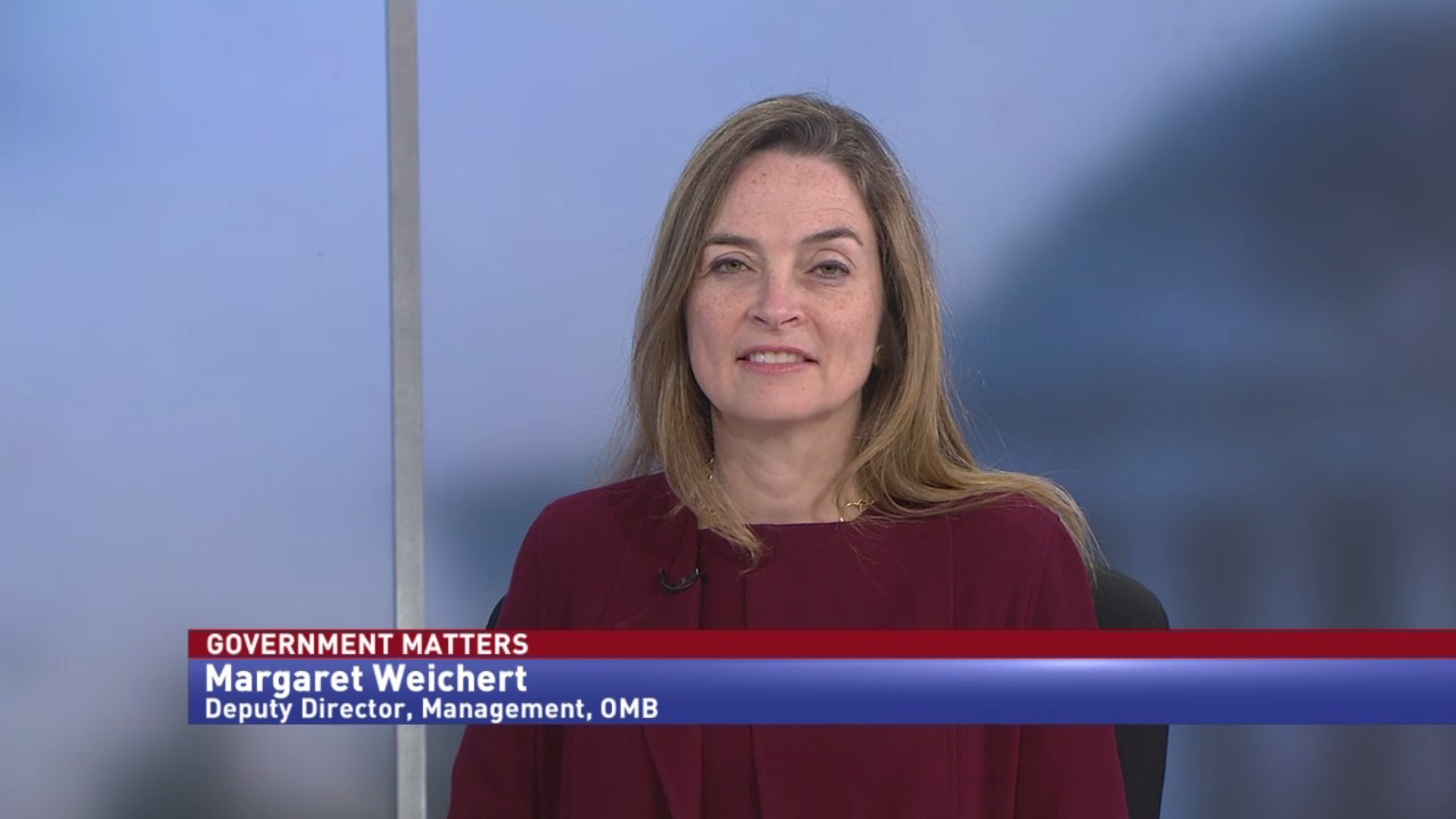 One-on-one with OMB Deputy Director for Management & Acting OPM Director Margaret Weichert