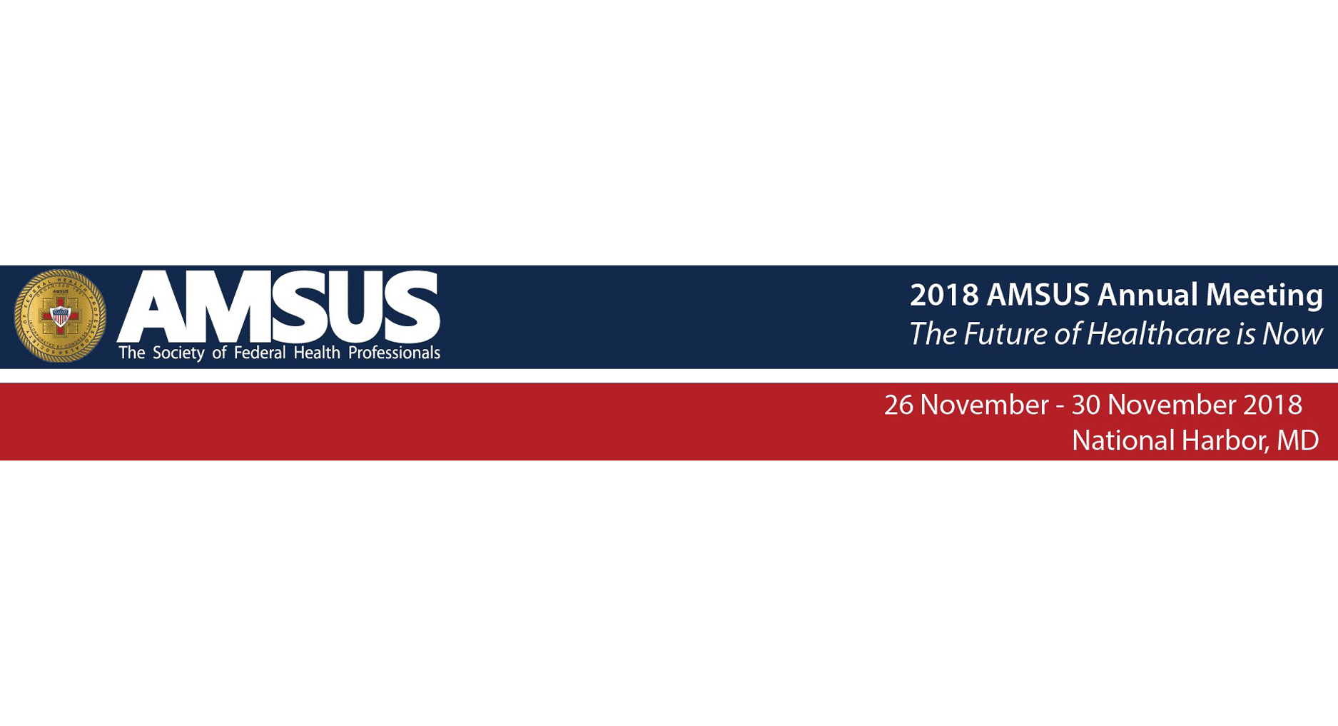 2018 AMSUS Annual Meeting