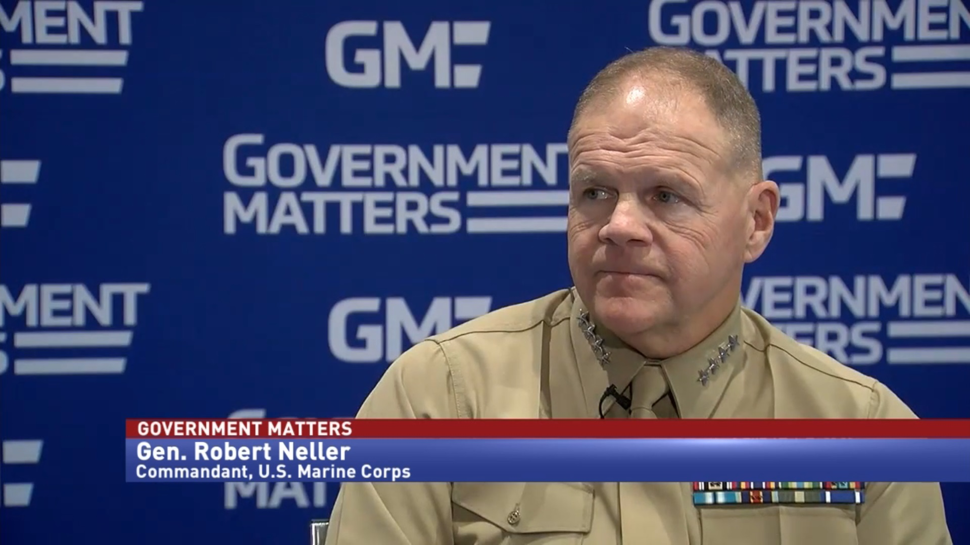 USMC Commandant details efforts to increase readiness & equip personnel